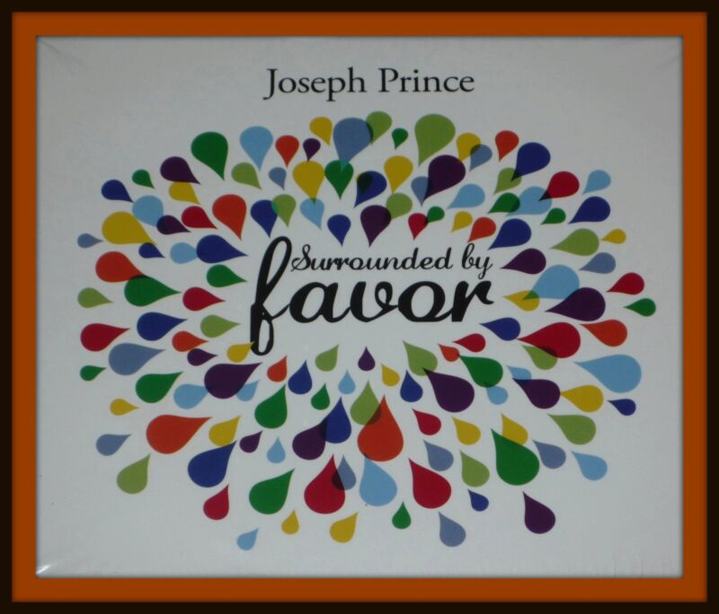 Joseph Prince SURROUNDED BY FAVOR - Complete CD Package
