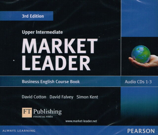 MARKET LEADER 3rd ed Upper Intermediate Business English Course AUDIO CD's @NEW@