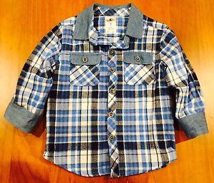 Toddler Blue Shirt - Size 2 Aspendale Gardens Kingston Area Preview