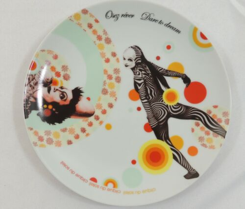 "Cirque Du Soleil Dare To Dream 8"" Plate"