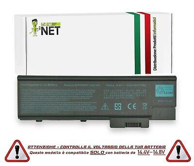 Batteria per Acer Aspire 1640LC da 14.4-14.8V 5200mAh 0113