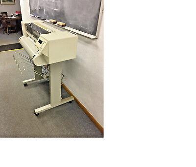 Hewlitt-packard Designjet 600 Plotter C2847a With Quick Reference Guide