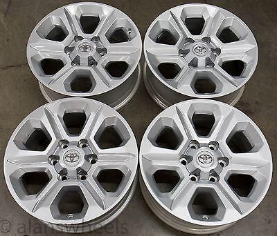 "Honda Factory Rims >> 4 New Takeoff Toyota 4Runner Tacoma 17"" Factory OEM Silver Wheels Rims 75153 | eBay"