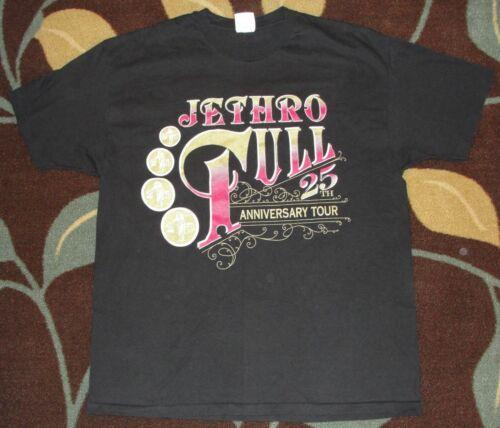 Jefthro Tull Vintage 1994 25th Anniversay Concert Tour Shirt XL