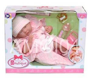 Berenguer Boutique 15.5inch Baby Doll Birth Certificate, Pacifier Wheelers Hill Monash Area Preview