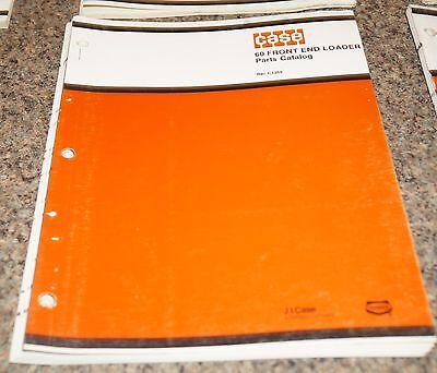 Case 60 Front End Loader Parts Catalog Manual Book C1269