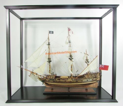 """Display Case For Historic Tall Ships Exclude Plexiglass Or Glass 41"""" Inner"""