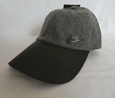 Nike Women's H86 Quilt Cap Carbon/Heather 878164-091