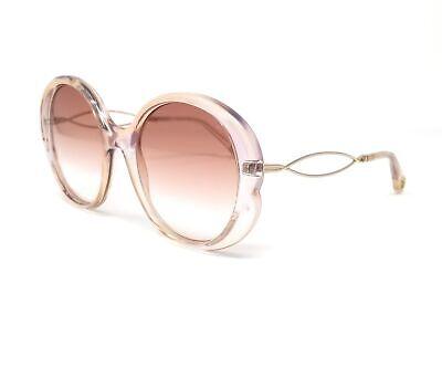 CHLOE Sunglasses CE739S 290 Iridescent Nude Round Women's 57x19x140