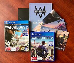 Watchdogs 2 Deluxe Edition + UNUSED DLC. AS NEW $45 or Swap/Trade Preston Darebin Area Preview