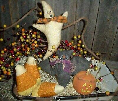 Halloween Lantern Craft (PATTERN Halloween Bat Ghosts Jack-0-lantern Candy)