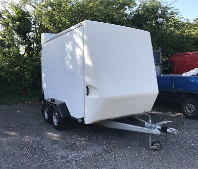Tow a van box trailer 10ft-12ft Twin Axle BV Ifor Burger