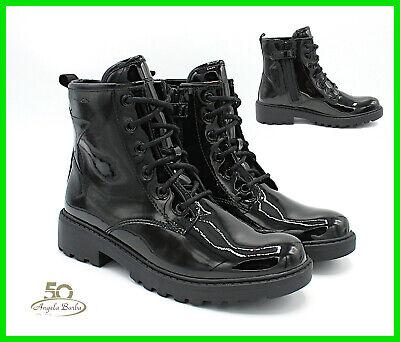 Geox Schuhe von Mädchen Stiefeletten Kampfstiefel für Damenstiefel