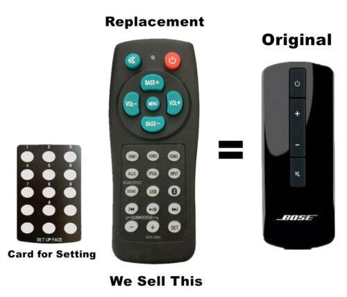 New Universal Soundbar Remote For Bose Cinemate Series Ii Solo 10 15 Series