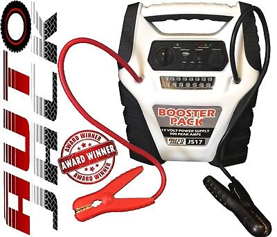 Heavy Duty Portable Car Battery Jump Start Power Starter Booster Rescue Pack