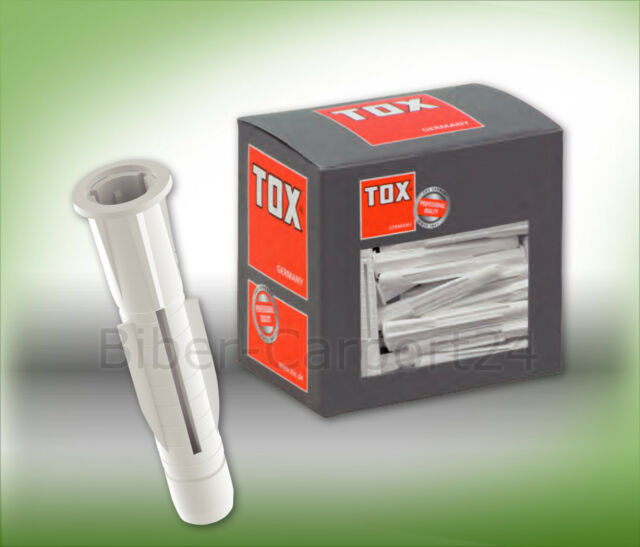 Tox TRIKA 5/31-14/75 Universaldübel 6/36 6/51 7/36 7/51 8/51 10/61 12/71