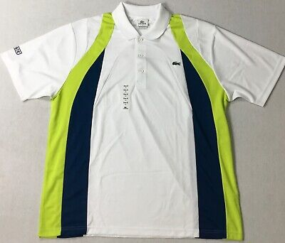 Lacoste Men Sport Short Sleeve Polo DH2311 White Size 8/XXL