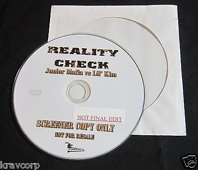 JUNIOR MAFIA VS LIL' KIM 'REALITY CHECK' 2006 PROMO DVD