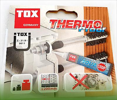 TOX Thermo Proof Bolzenanker Edelstahl A4 Schwerlast Montagesystem Ankerbolzen