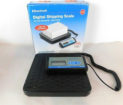 Brecknell Ps150 Digital Shipping Scale Up To 150lb. Capacity Portable