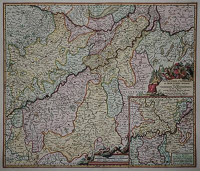 Juliacensis, Cliviensis, et Montensis... - Jülich, Kleve, Berg - Visscher 1680