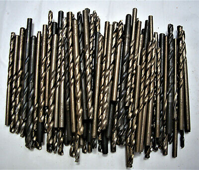 Drillco Series 1400 9//16 X 8 3//4 Black Oxide HSS Twist Drill Bit With NO 2 Morse Taper Shank And 4 7//8 Spiral Flute