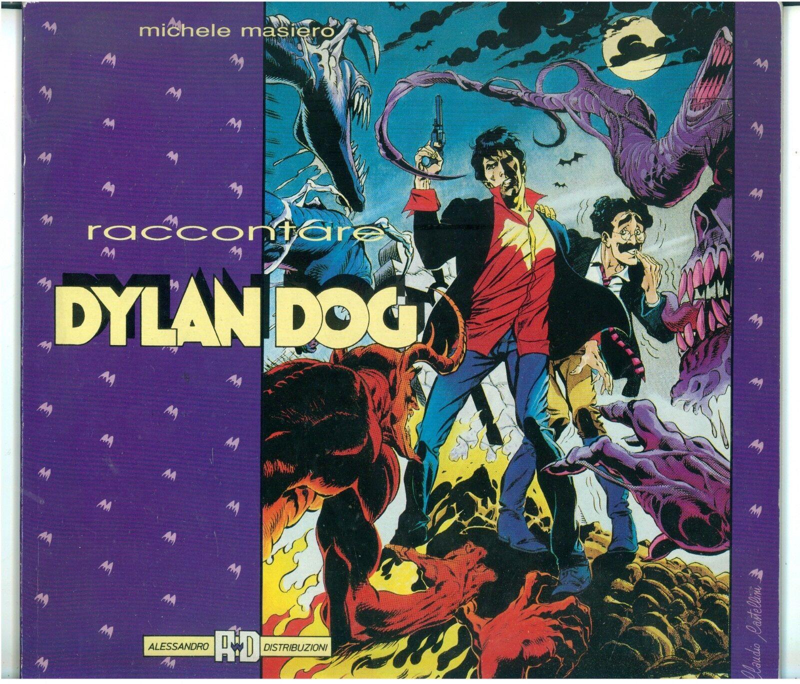 MASIERO MICHELE RACCONTARE DYLAN DOG ALESSANDRO DISTRIBUZIONI 1990