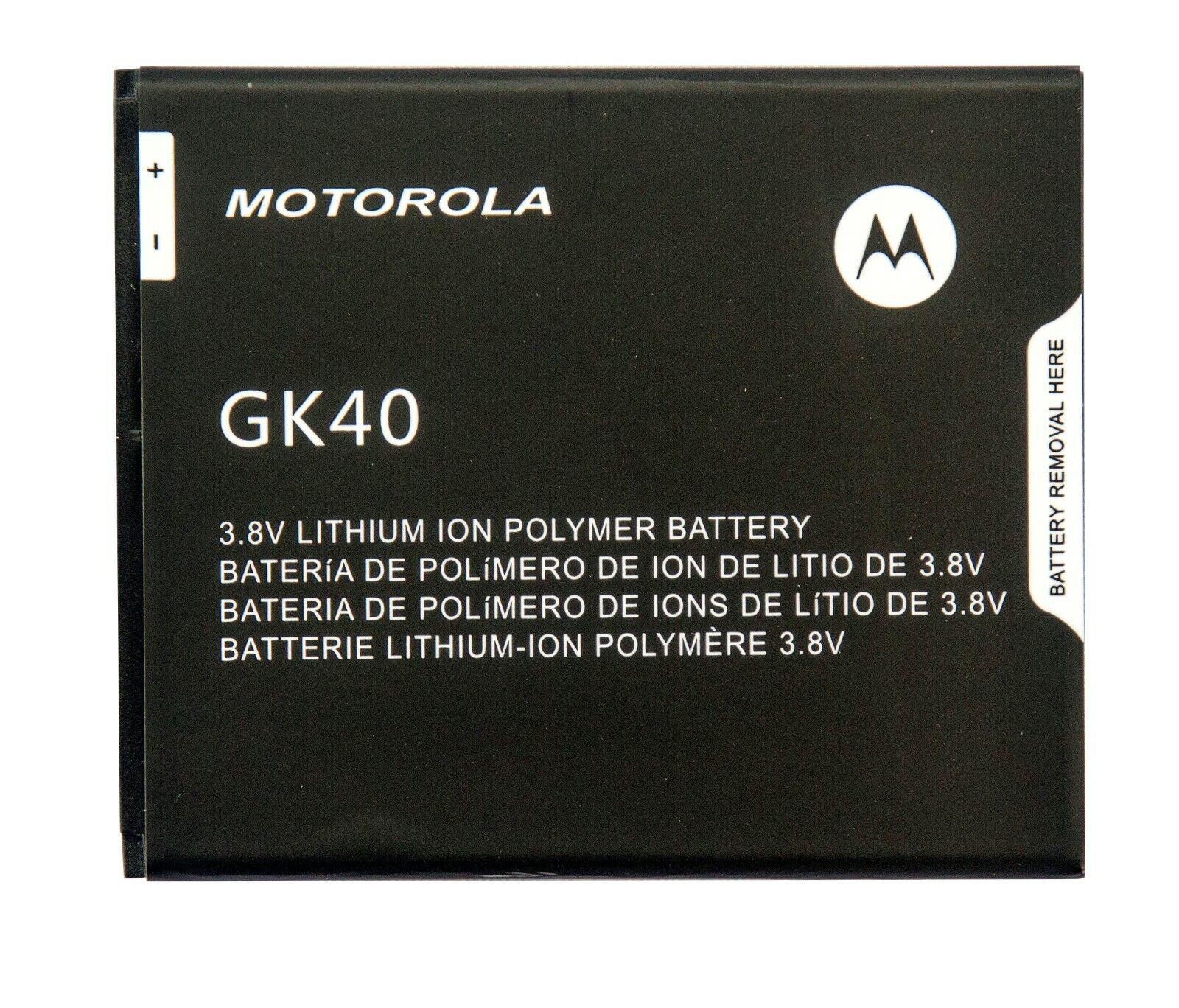New OEM Original Genuine Motorola GK40 Battery for MOTO G4 PLAY XT1607 XT1609 -  [+Peso($75.00 c/100gr)] (EBI)
