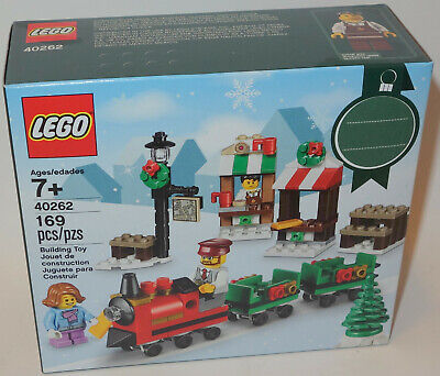 LEGO Seasonal Christmas Train Ride 40262 NEW SEALED BOX VIP BAKERY HOT CHOCOLATE
