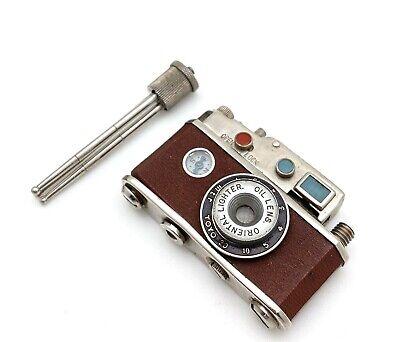 Oriental Camera Shaped Lighter w/ Tripod, Vintage! Nice!