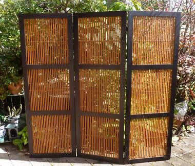 3 PANEL PRIVACY SCREEN - Freedom Furniture Mooloolaba Maroochydore Area Preview