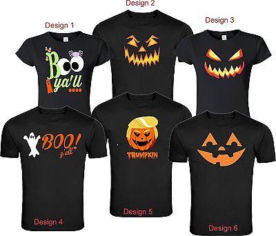Happy Halloween All Styles Funny Cute  Shirts Unisex Ladies S-4XL - Cute Happy Halloween
