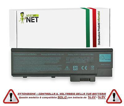 Batteria da 5200mAh compatibile con Acer Aspire 1641LMi 1641WLMi 1642WLMi 1640z