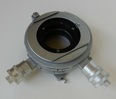 Nikon E2 Micrometer Stage With Custom Fixture See Photos Used In Superb Shape