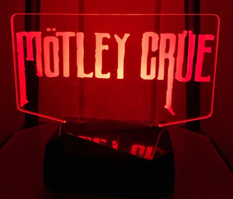 Motley Crue multicolor light