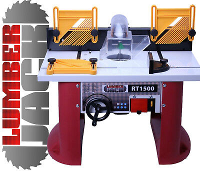 Precision Bench Top Router Table with Built In 1500w Variable Speed Motor 240v