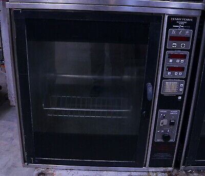 Henny Penny Scr-6 Electric Digital Commercial Chicken Rotisserie Oven Barbecue 1