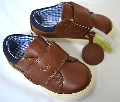 Kickers Boys Leather Shoes Boots Trainers Tovni Unio Size UK 10 EU 28