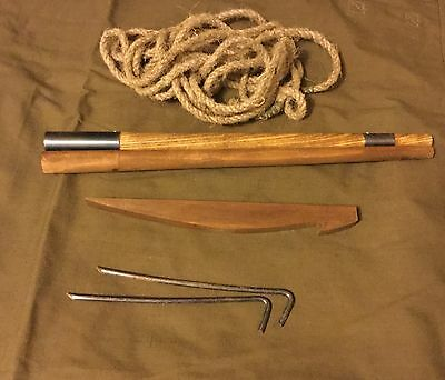 Soviet Military Army Tent Stake Set Russian Military Soldier