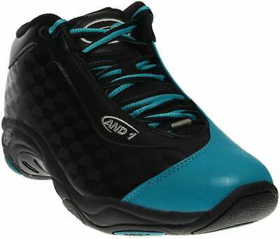 AND1 Tai Chi Mid  Casual Basketball  Shoes Black Mens - Size 8 D