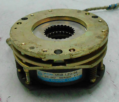 Ogura Clutch Brake Unit Mnb 1.2g-06 24 Vdc Off Mazak Vqc-1540 Used