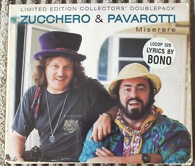 Zucchetto & Pavarotti Miserere CD Single for sale  Shipping to South Africa