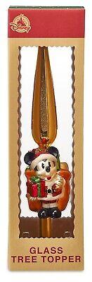 Authentic Disney's Santa Mickey Mouse Christmas Tree Topper