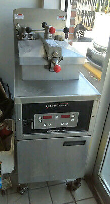 Henny Penny Computron 1000 Pressure Fryer Model 600 Natural Gas Electric 120v