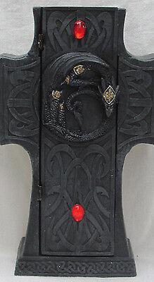 # mt30496 Drachenschatulle Dose Drachenschatzkiste Schmuckschatulle