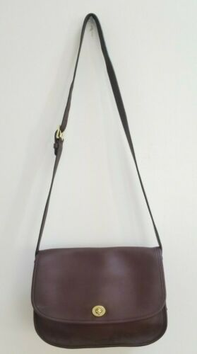 COACH F09790 City Bag Tan Saddle Leather Messenger Shoulder Cross-body Handbag