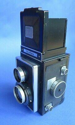 ZEISS IKON   IKOFLEX - avec 75 mm 3,5 et gaine cuir