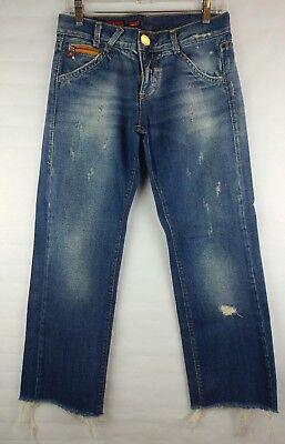 Sixties Women's Fashion (Miss Sixty 'Big Ty' Women's Distressed Boyfriend Style Jeans Size 29)