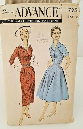 Vintage 1950 Pattern Women