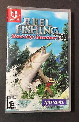 Carrete Pesca [Roadtrip Aventura] (Nintendo Interruptor) Nuevo